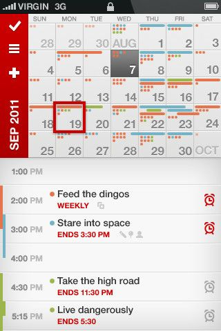 UI Patterns » Calendar(mobile)    http://www.mobiletuxedo.com/fast-calendar-tasks/