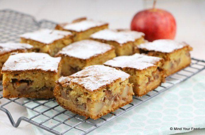 appel kaneel cake