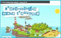 L'éco-missaire mène l'enquête, proposé par Le Ministère de l'écologie, de l'énergie, du développement durable et de la mer de France.