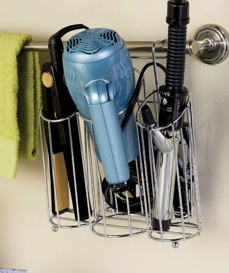 Hair Station #Organizers - perfect solution when hair items are still a bit hot!