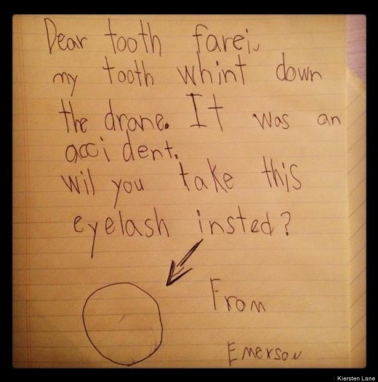 16 Best Tooth Fairy Letters Images On Pinterest