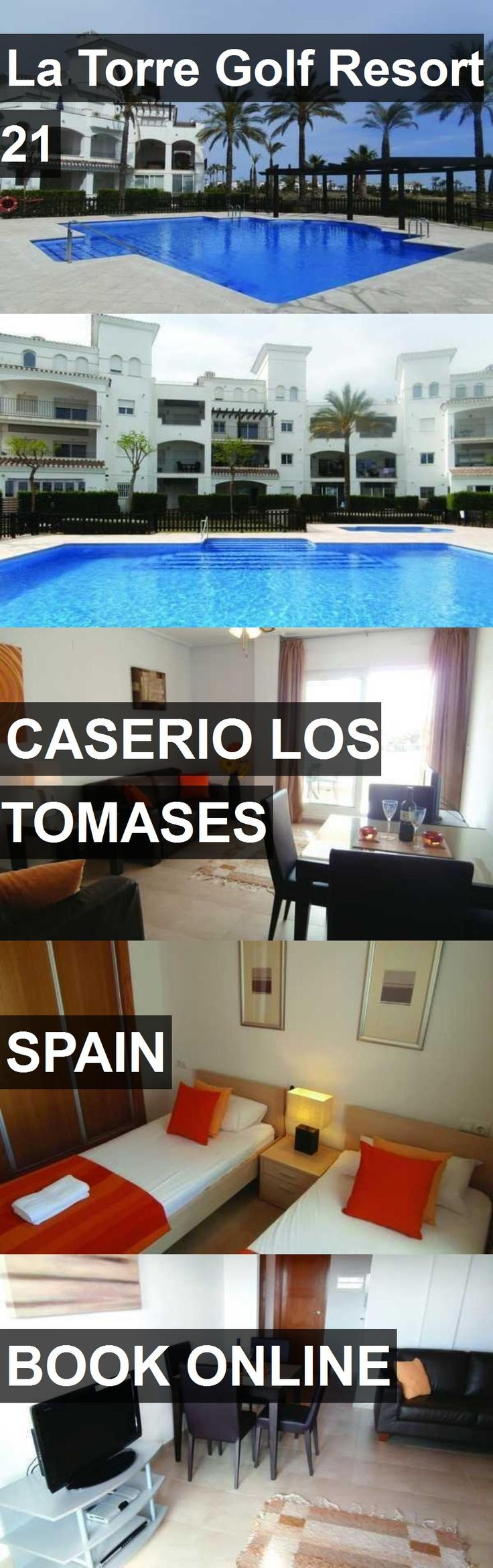 Hotel La Torre Golf Resort 21 in Caserio Los Tomases, Spain. For more information, photos, reviews and best prices please follow the link. #Spain #CaserioLosTomases #LaTorreGolfResort21 #hotel #travel #vacation
