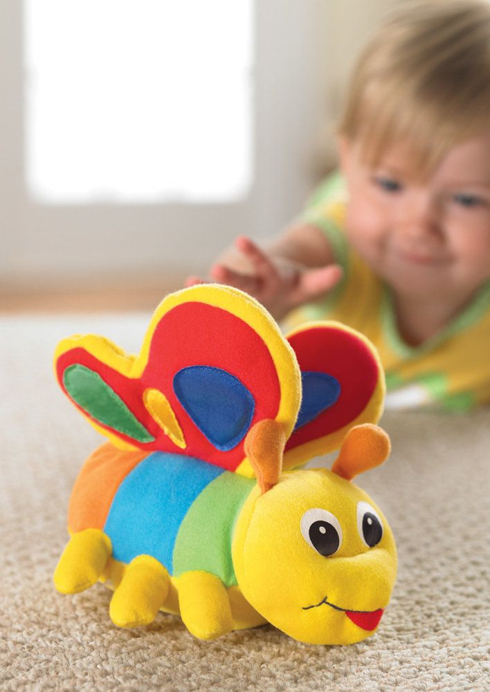 Crawl Abouts Butterfly Baby Toy