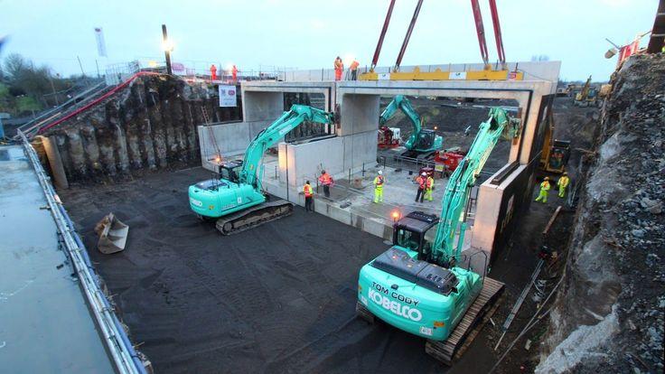 Iarnród Éireann with contractors, installed a new