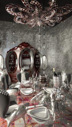 About 432 Park Avenue, project01, Emerald Boudoir - Luxury Interiors