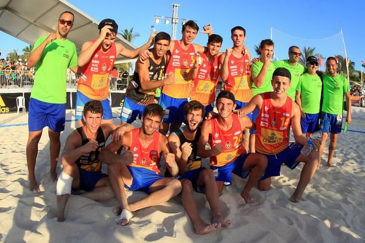 International Handball Federation > Spain take gold at the Men's U17 Beach Handball World Championship