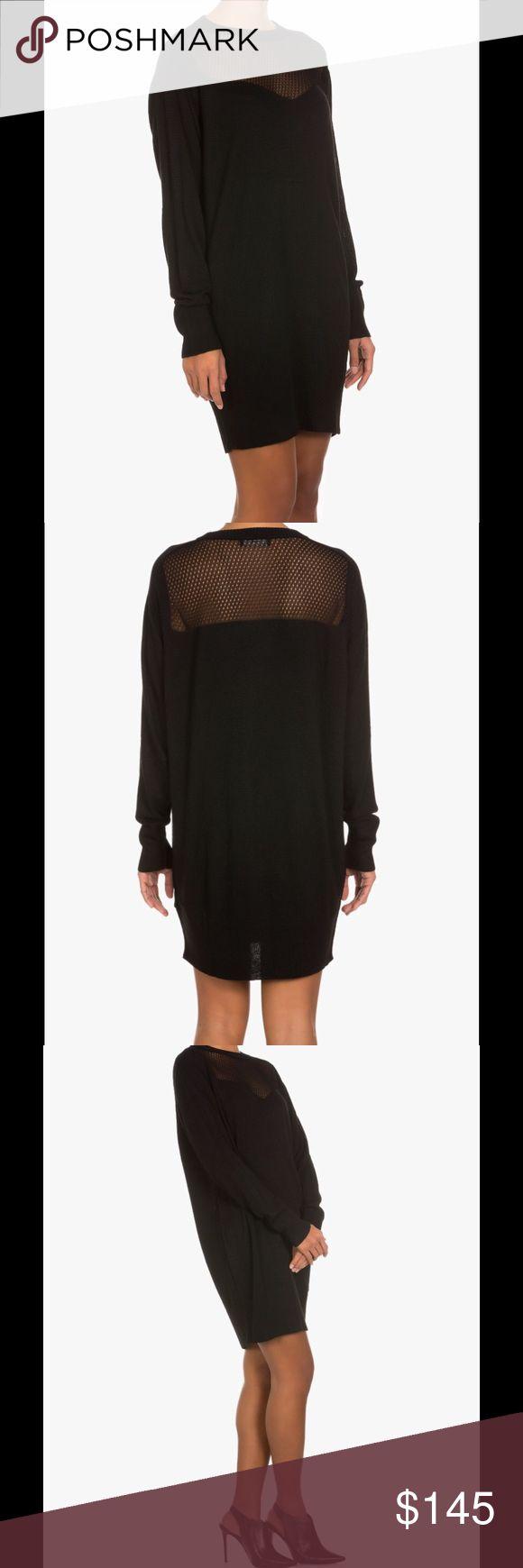 Diesel dress Crew neck, long sleeves, semi-sheer top detail. 72% Rayon-Viscose, 26% Nylon, 2% Alpaca Diesel Dresses Mini