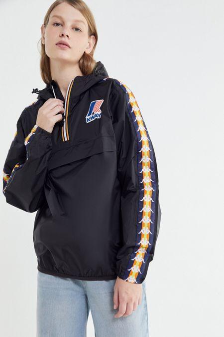 f2290e65f6 Kappa X K-Way Le Vrai Leon Popover Jacket | need in 2019 | Jackets ...