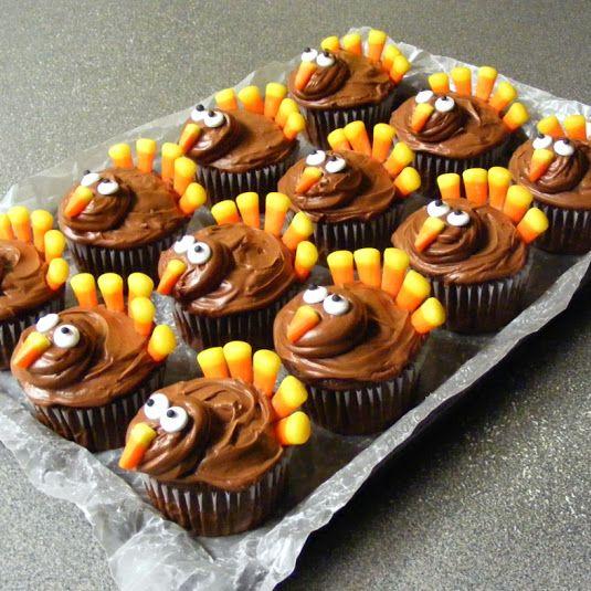 Decorated Chocolate Turkeys Www Dunmorecandykitchen Com: Best 25+ Turkey Cupcakes Ideas On Pinterest