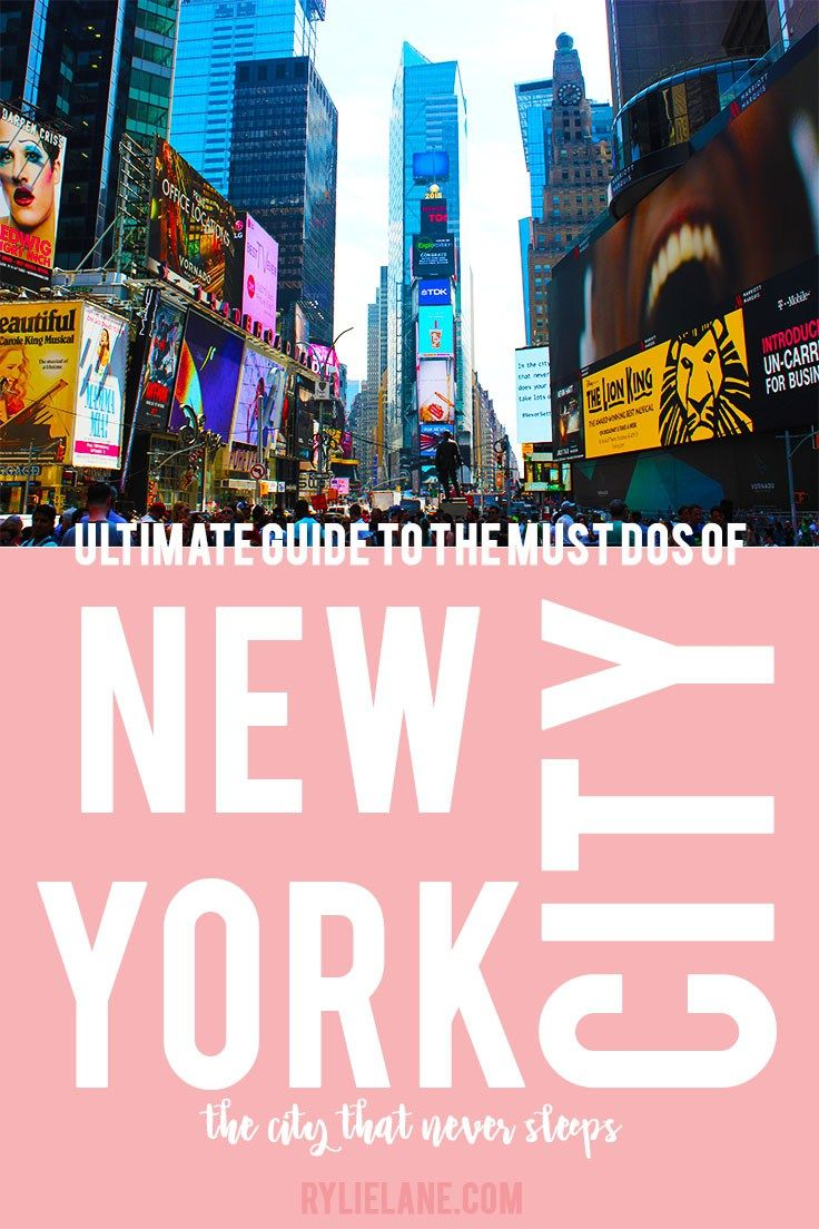 New York is a crazy massive city with so many things to offer, it will blow your mind - List of everything to do in New York City, from being a tourist to eating the best of the best food to random quirky must sees!