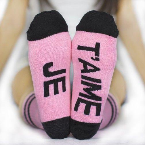 JE T'AIME Arthur George socks by Robert Kardashian