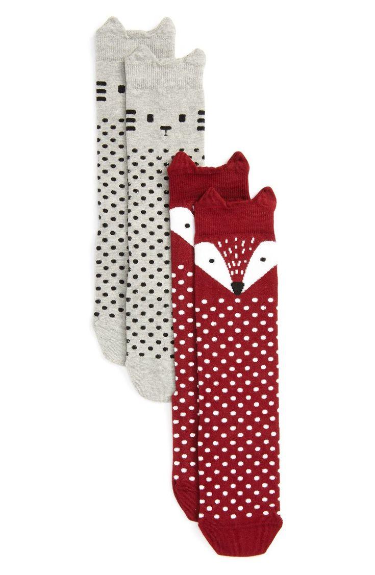 Animal Socks Girls