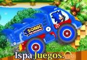 Sonic Xtreme Truck: Juego de sonic, manejando un truck teniendo el reto de llegar hasta el otro lado acumulando puntos, trata de no volcar o caer http://www.ispajuegos.com/jugar6189-Sonic-Xtreme-Truck.html