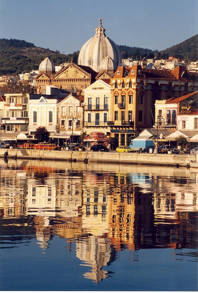 Greece | The church of St Therapon in Mytilene, Lesbos