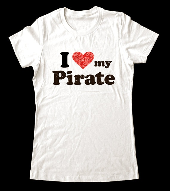 Perfect shirt for me to wear to my little man's pirate party - it was super cute and made very nicely!
