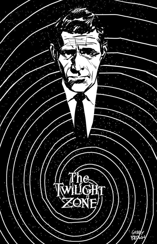 Rod Serlings The Twilight Zone Art By Thisismyboomstick On DeviantART This Sci Fi Fantasy Anthology Series Ran CBS From Octo