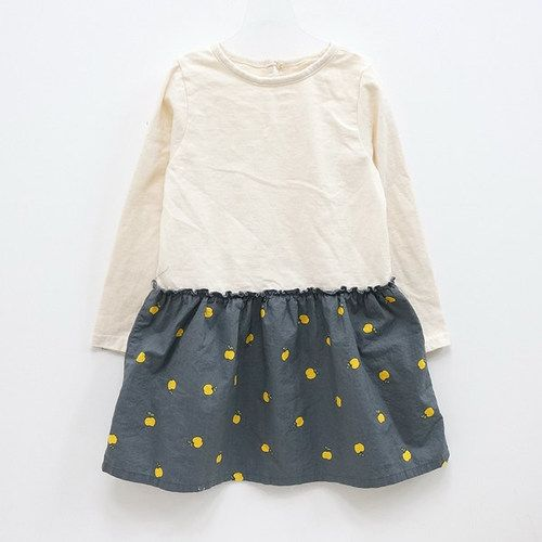 This would be an easy homemade dress- long sleeve shirt and gather/sew material on bottom....