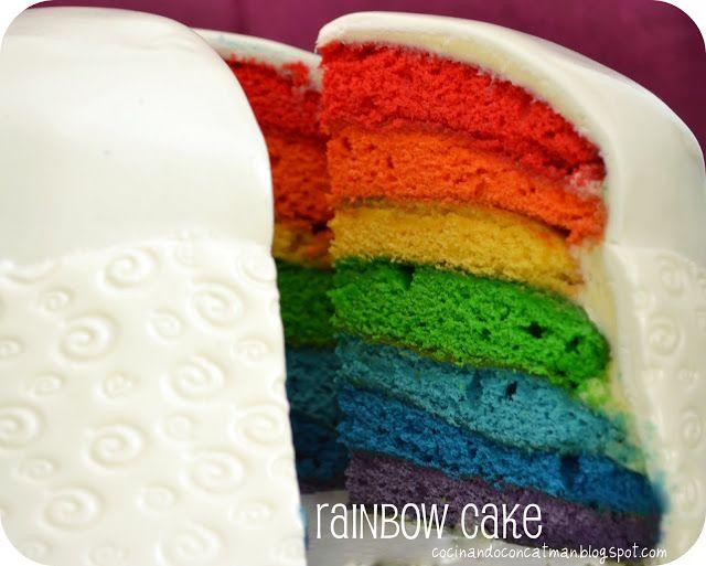 Gateau rainbow thermomix