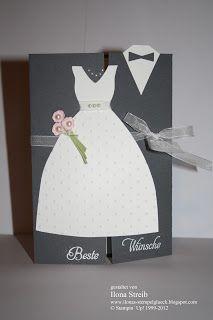 Stempelglück: Hochzeitskarte