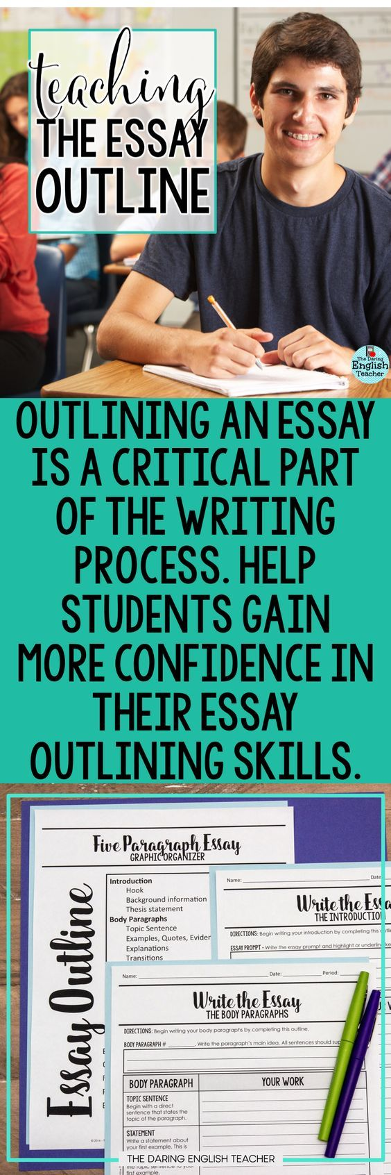 Teaching essay writing middle school students
