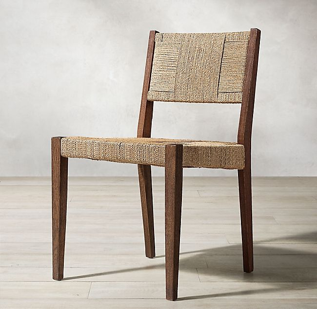 Delos Side Chair Dining Chairs Furniture Seagrass Dining Chairs