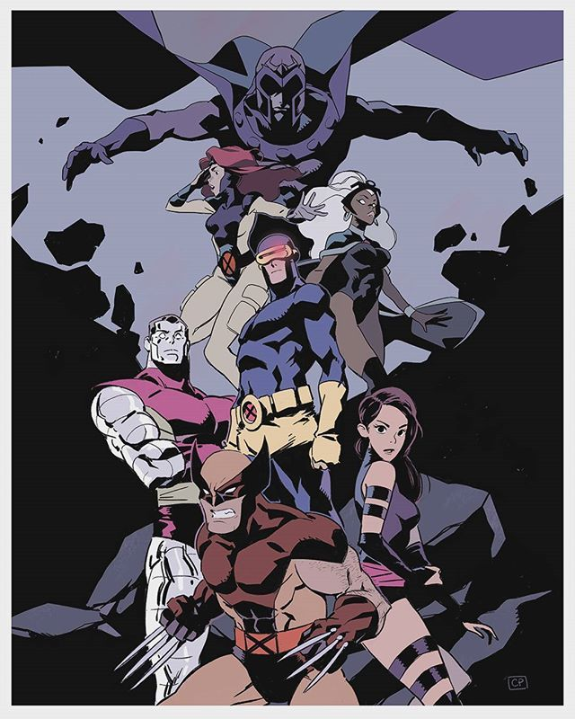"""Chris Palmer- X-Men """"Never posted the final image of this here. #xmen"""