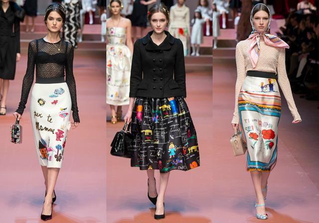 Top Designs – Dolce and Gabbana's Fall Collection 2015/2016  Top Designs – Dolce and Gabbana's Fall Collection 2015/2016 collage sobreposi    o Copy