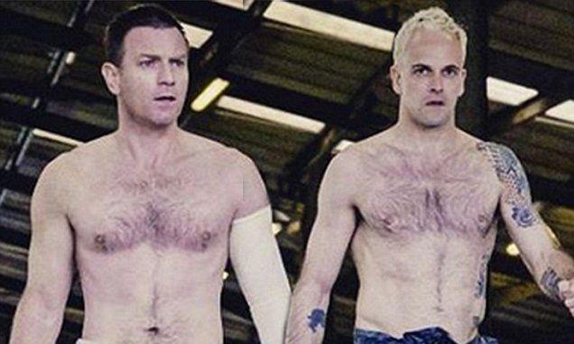Ewan McGregor and Jonny Lee Miller go shirtless in T2 sneak peek
