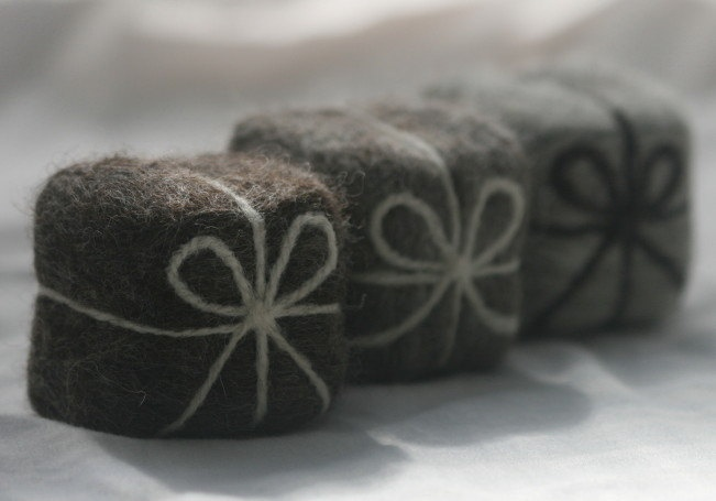 felted soap...