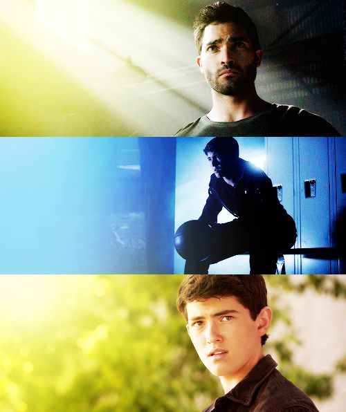 Derek Hale in Visionary. This episode ripped my heart out.