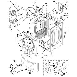 Whirlpool dryer Model #WED9750WW02 Serial M11004293