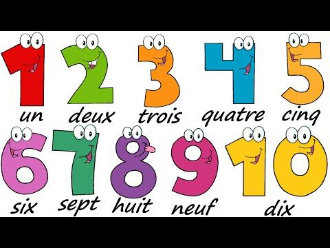 how to say french numbers 1 20