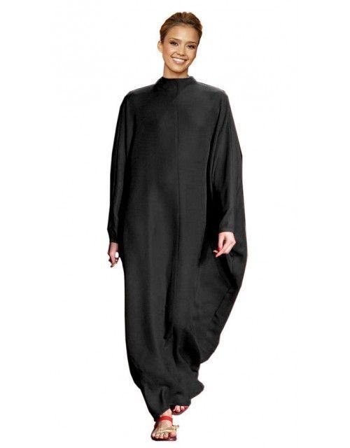 Plain Kaftan - Black