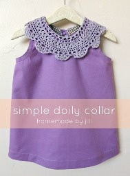 Tutorial: Doily collar for a top or dress · Sewing | CraftGossip.com
