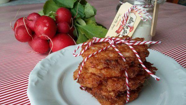 Zöldségfasírt retekből, alias retekröszti diétás ebédre!
