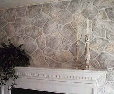 Medieval Gothic Home Decor Painted Faux Stone Wall Around The Home Pinterest Removable