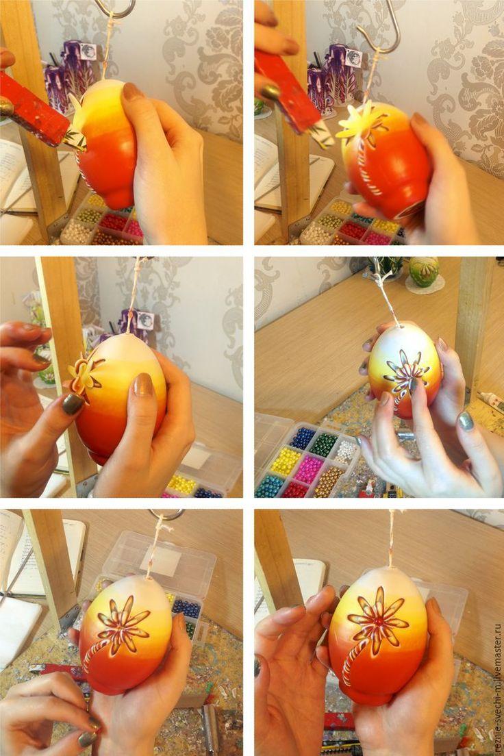 Это рассказ о том, как сделать яркую, необычную, я бы сказала даже эмоциональную, свечу в форме пасхального яйца. В отличие от классических резных свечей, на основе заготовки-звезды, где нужно месяцами набивать руку, чтобы результат вызывал восхищение, с описанной в мастер-классе свечой справится любой, даже ребенок. Обязательно получится красиво. Все узоры режутся всего одним ножом. Итак,…