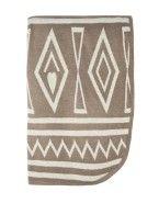 Buckle Aztec Shawl