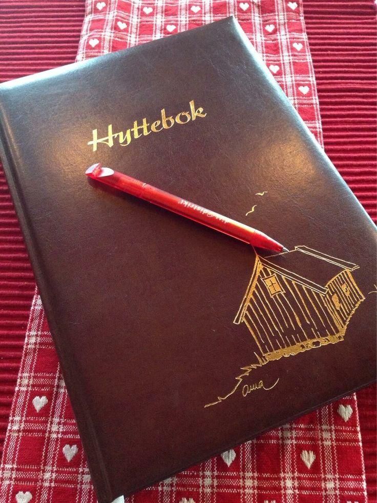Da er siste kapittel skrevet i hytteboka for denne gang. Vi har hatt en koselig #hyttejul. Dette kan anbefales.