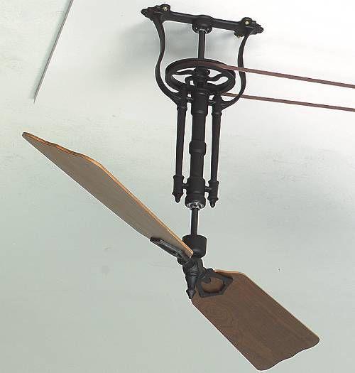 17 best ideas about belt driven ceiling fans on pinterest ceiling fans industrial ceiling fan - Ceiling fan pulley system ...