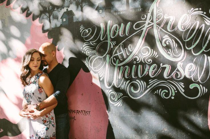 Cabbagetown Engagement Photography The Goat Farm Wedding Atlanta urban grafitti engagement