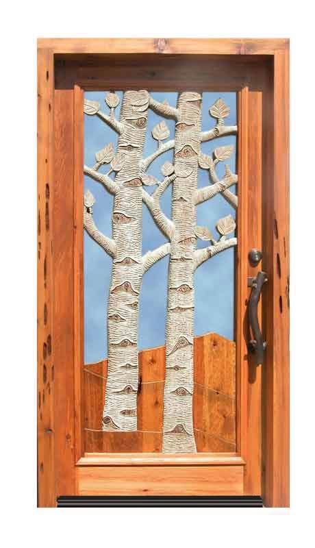 Door  Aspen Trees Quaking   Inspired By Mother Nature