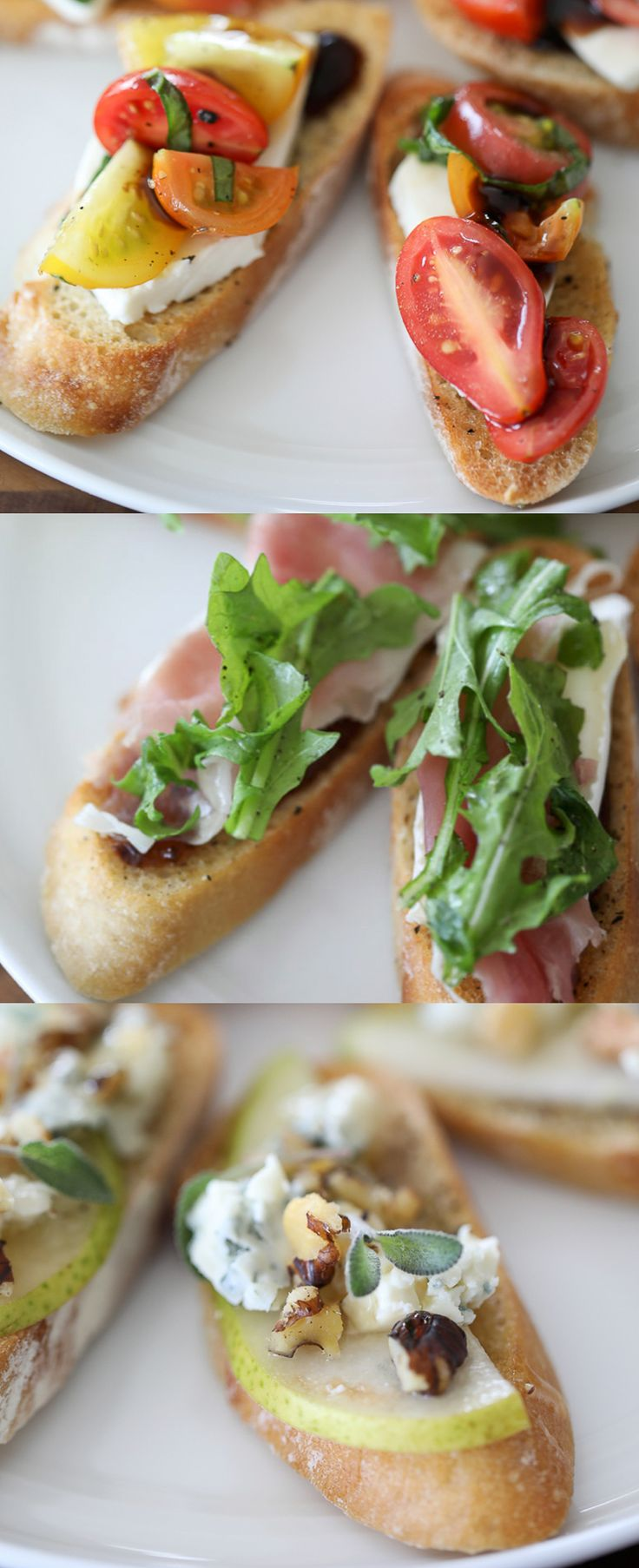 appetizer Crostini Recipes for Entertaining - #crostini #farmtotable #recipe #cheese #appetizer #vegetable