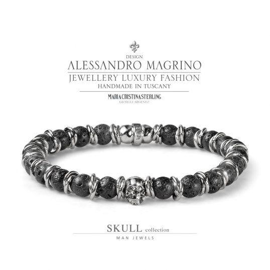collezione Luxury Man Skull! I gioielli realizzati artigianalmente dall'animo rock ma con stile. https://shop.mariacristinasterling.it/categoria-prodotto/gioielli_uomo/collezione-skull/