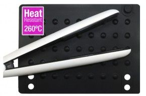 We're asking - Do you travel with your hair straightener?  http://www.beautyreview.co.nz/article/do-you-travel-with-your-hair-straightener  The Sugar Beauty Hot Pad is heat resistant to 260 degrees and wraps around your straighteners for easy styling on the go!