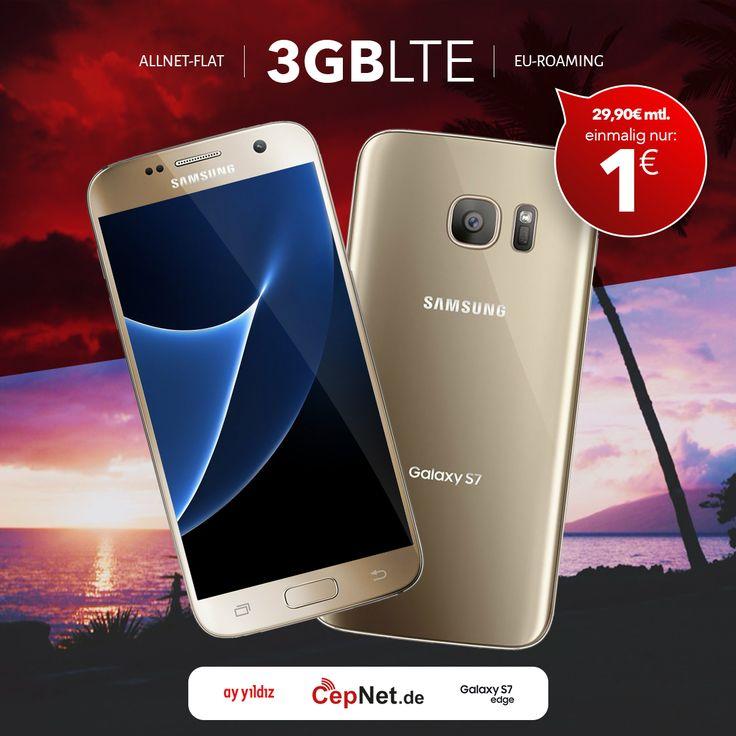 🤙😎 Samsung G935 Galaxy S7 edge 32GB mit günstigem ay yildiz Ay Allnet Plus Vertrag🔥🔥🔥   👉👉   https://www.cepnet.de/smartphones/samsung/g935-galaxy-s7-edge/?utm_source=cepnet_diger&utm_medium=S7_galaxy&utm_campaign=tekreklam  ✅Telefonie-Flat* in alle dt. Handy-Netze  ✅Telefonie-Flat* ins dt. Festnetz  ✅Telefonie-Flat* ins türkische Festnetz  ✅Internet-Flat* 3 GB mit bis zu 21,6 Mbit/s (danach Drosselung auf 56 kbit/s)  ✅EU Roaming Flat** EU-weit surfen & telefonieren  ➤Gerätepreis…
