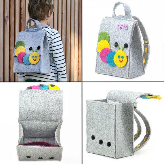 Personalized Kids Backpacks Monogram Backpack Handmade от byBears