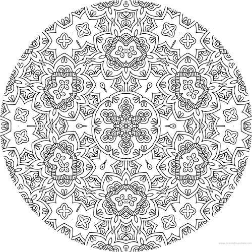 1000 ideas about anti stress on pinterest reduce stress - Mandalas adultes gratuits ...