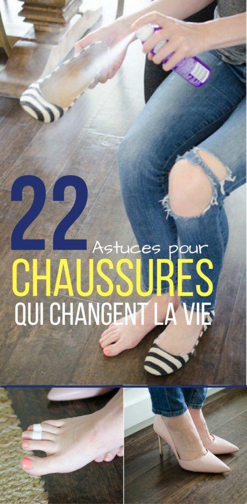 22 ASTUCES POUR CHAUSSURE QUI CHANGENT LA VIE (2)