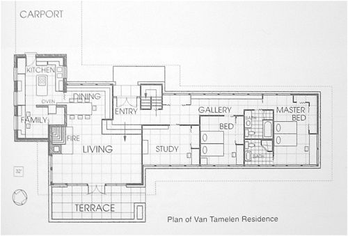 11 best house plan images on pinterest architecture for Frank lloyd wright modular homes